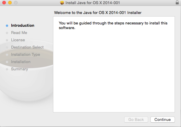 How to resolve Java SE 6 runtime message on Mac OSX 10 10