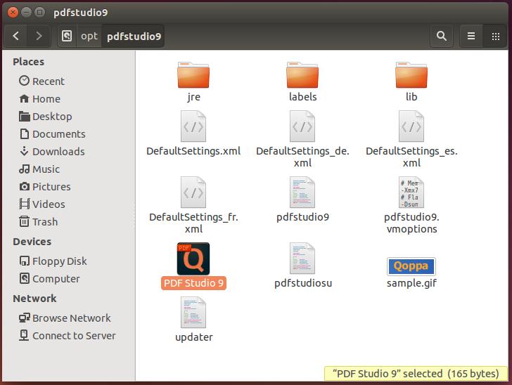 PDF Studio launcher folder