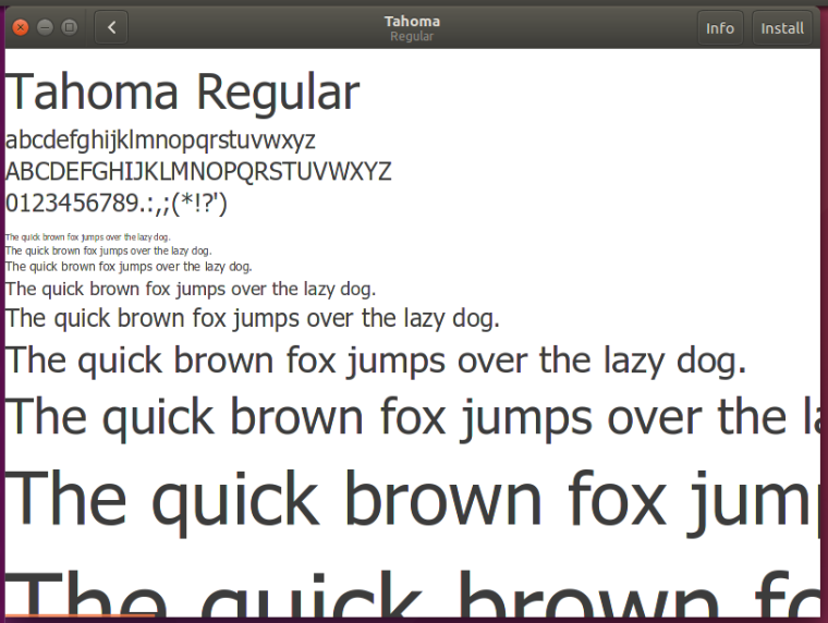 How to manually install fonts on Linux and identify missing