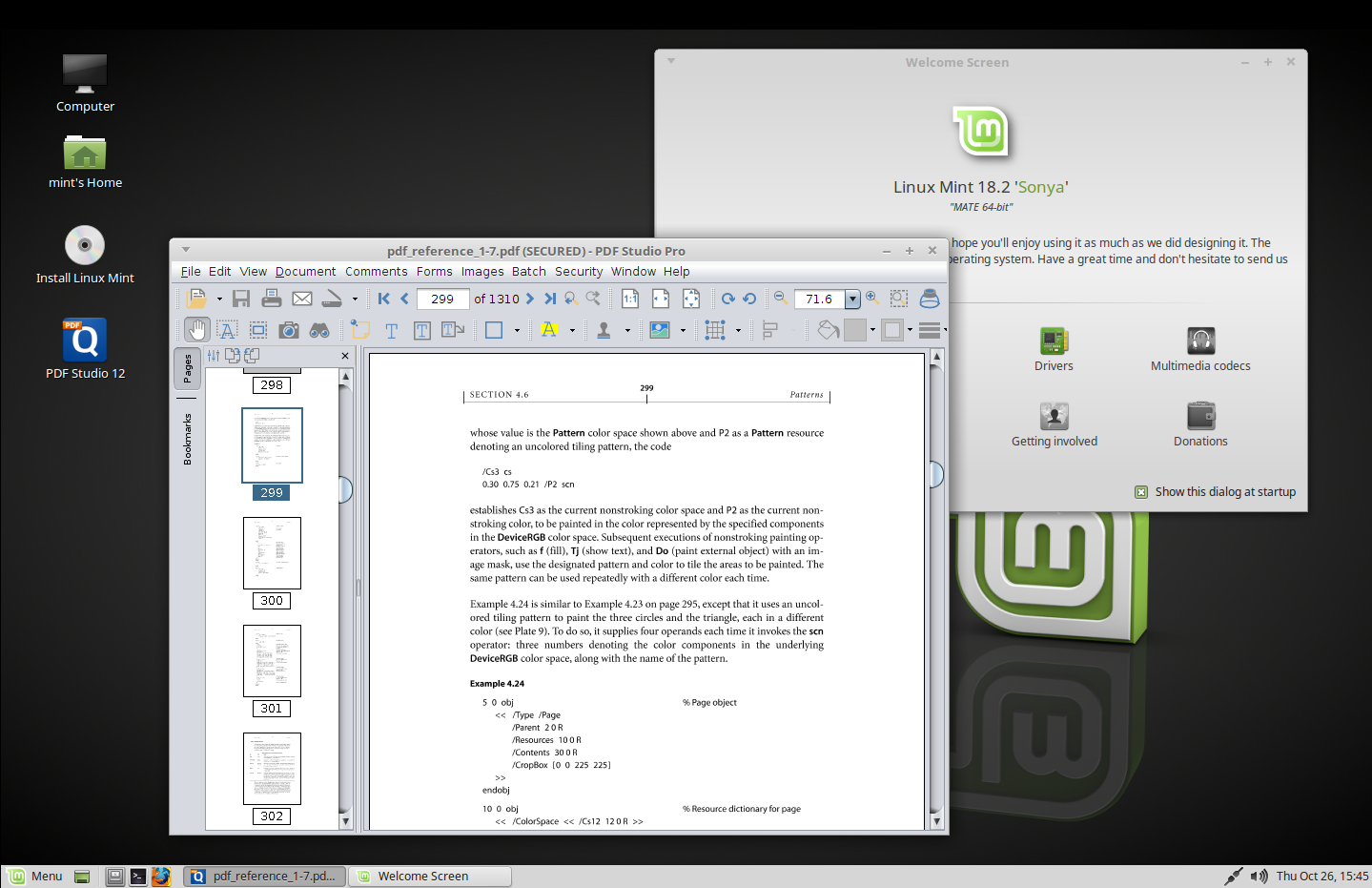 Edit and Annotate PDFs on Linux Mint 18 | PDF Studio Knowledge Base