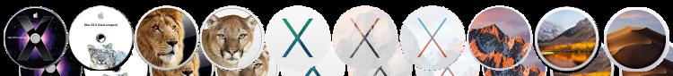 Mac OS Logos