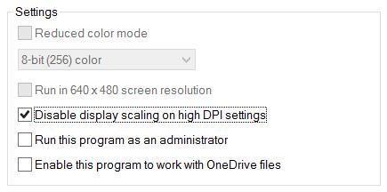 PDF Studio Properties - compatibility setting