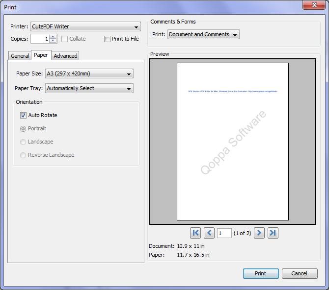 pdfprinter