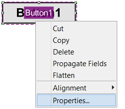 Push Button properties