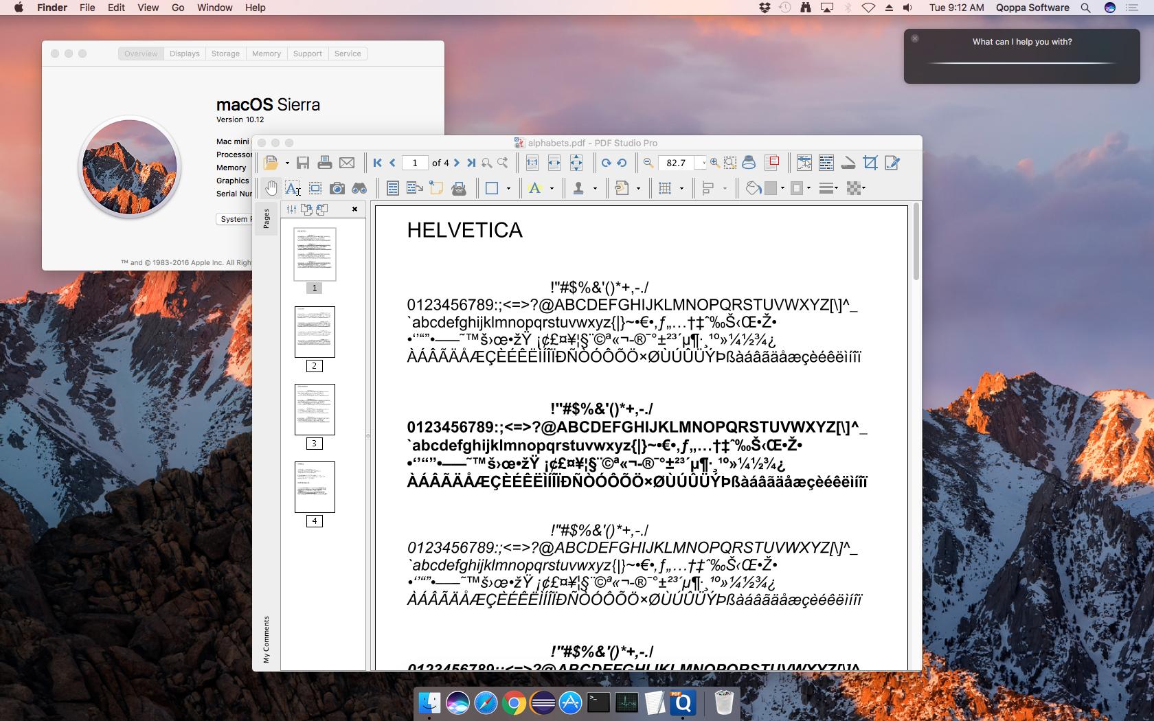 PDF Studio on macOS Sierra