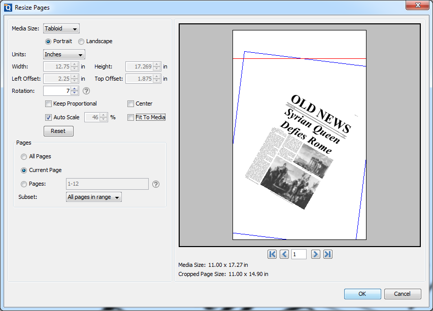 How To Resize Pages In A PDF Document Using PDF Studio For