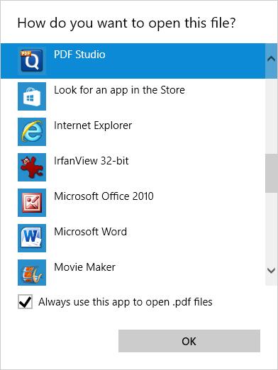 Windows 10: Default PDF file association reverts to